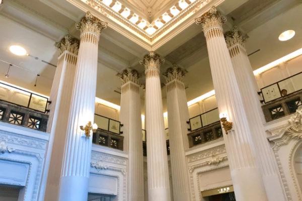 国立台湾博物館の美しい柱