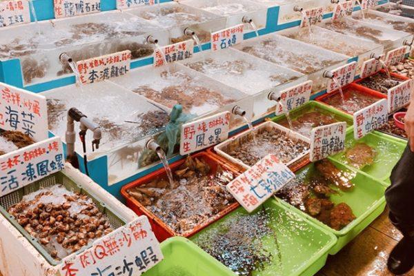 魚介類の販売