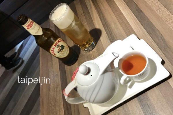 紅茶とビール