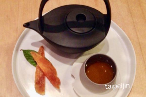 ウーロン茶とドライマンゴー