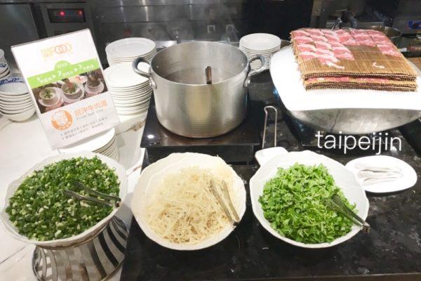 牛肉スープの材料