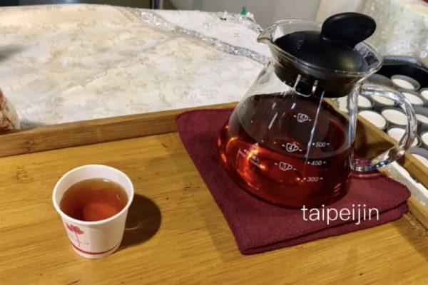 廖鄉長紅茶故事館のお茶のサービス