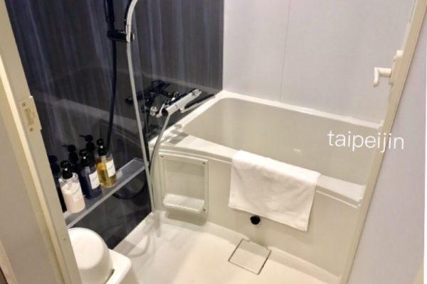 変なホテル福岡のバスルーム