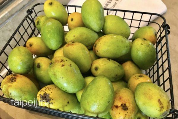 緑のマンゴー