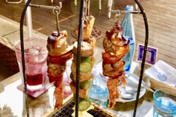 淡水榕堤水湾餐廳バリ風串焼き