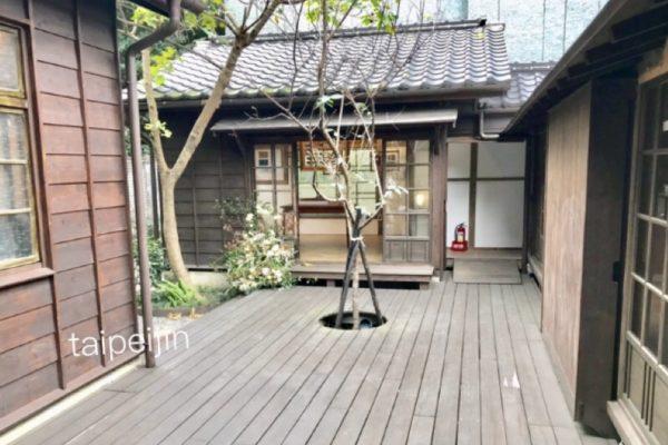 金錦町JinJinDingの中庭