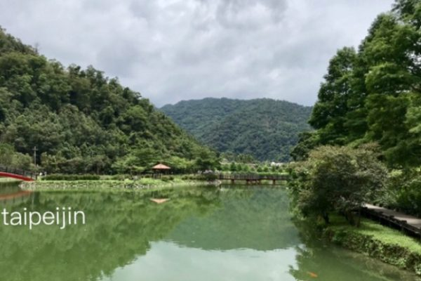 望龍埤という湖
