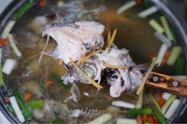 深海魚のスープ