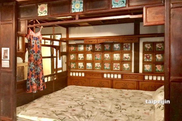 台湾花甎博物館の三階