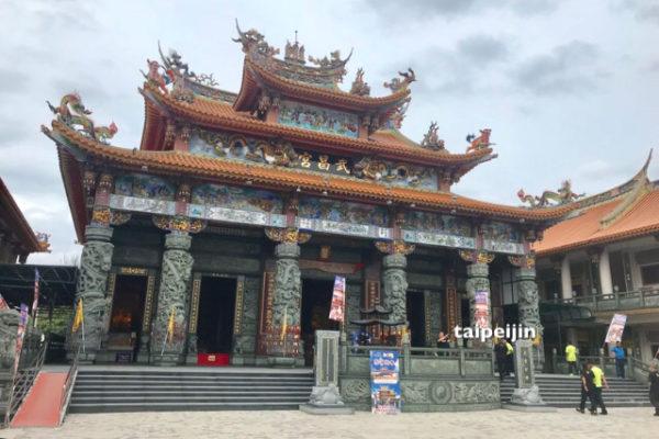 復興したお寺