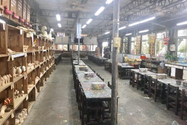 DIYの広い教室