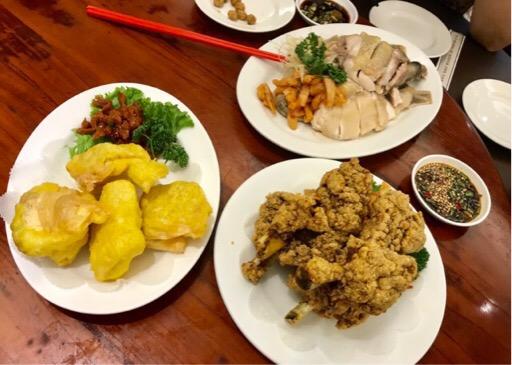 興蓬來餐廳のお料理
