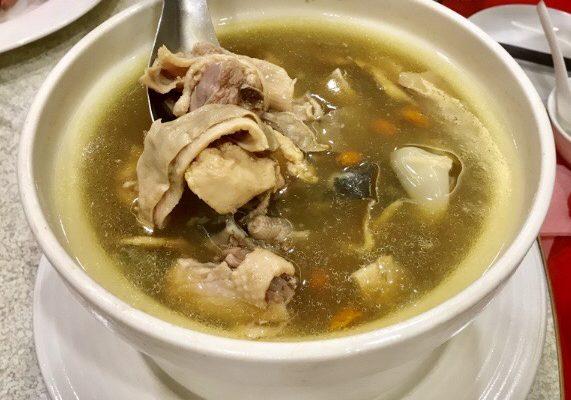 お肉のスープ
