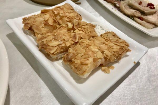 杏香鮮蝦卷