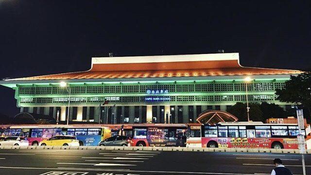 台北駅外観
