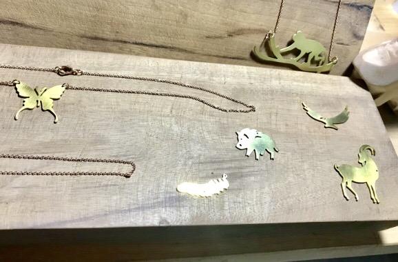 銅のネックレス