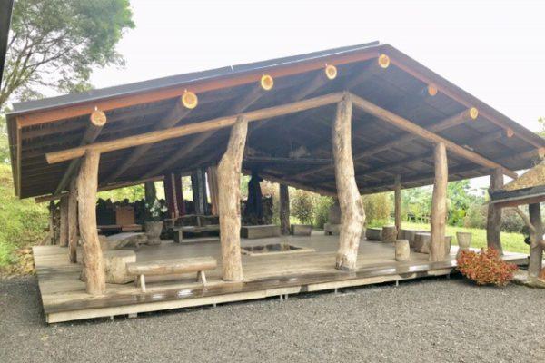 不老部落の建物