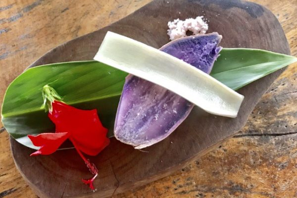 紫芋と生姜