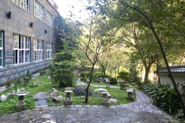 統一ホテルのお庭
