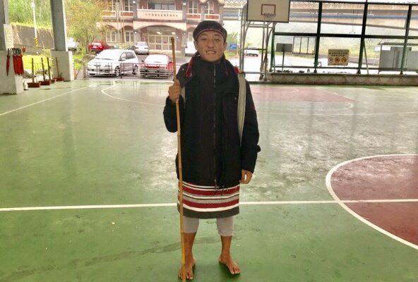 原住民の男性