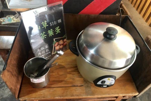 電鍋の茶玉子