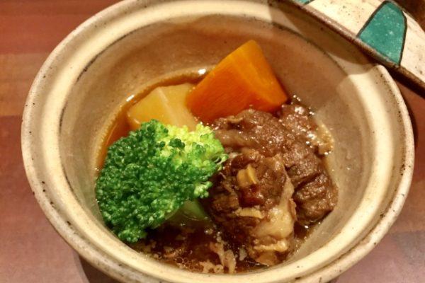 牛肉の煮物