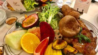 ブランチの野菜