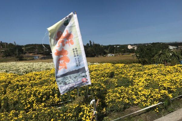 幟旗の菊園
