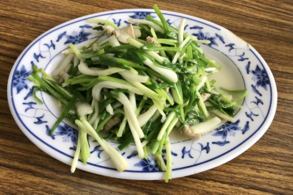 珠葱の料理