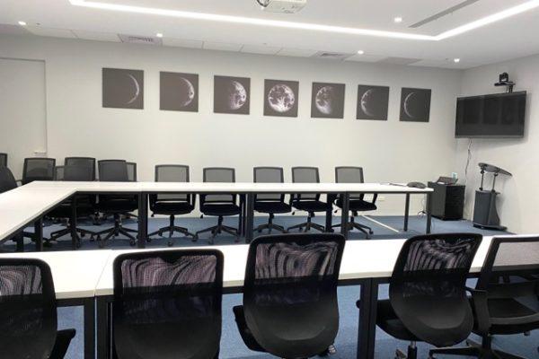 NASAの名前の会議室