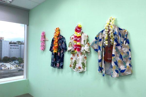 ハワイの名前の会議室
