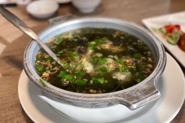 お魚団子のスープ