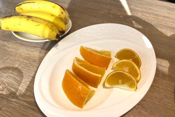 バナナとみかん