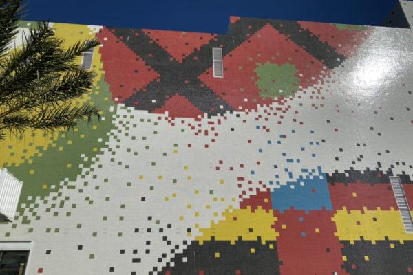 モザイクの壁