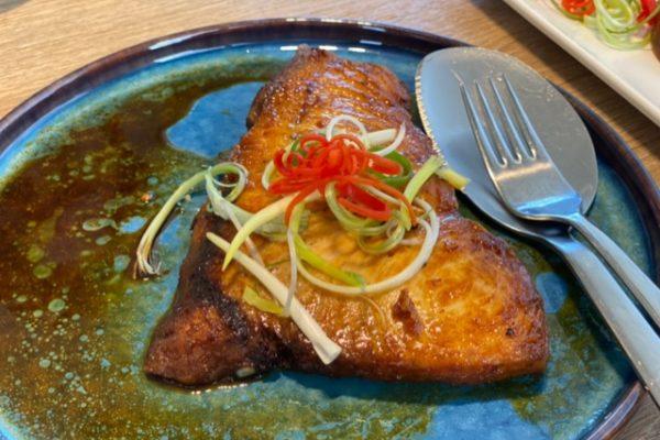 魚ステーキ