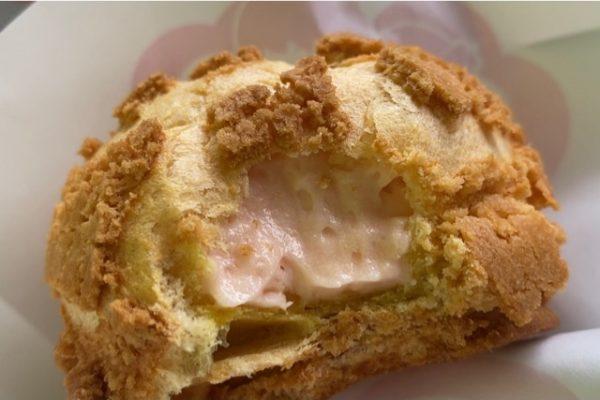 イチゴシュークリーム実食