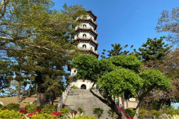 澄清湖の塔