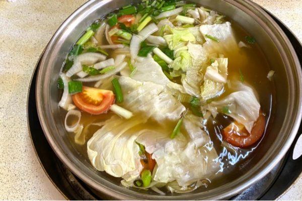 阿裕牛肉涮涮鍋のしゃぶしゃぶ
