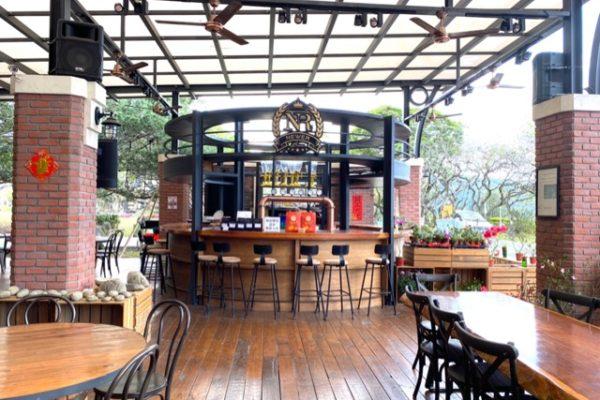 牛耳芸術渡假村のカフェ