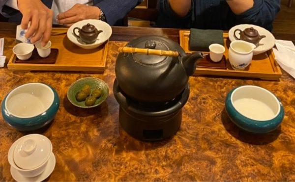 お茶のポット