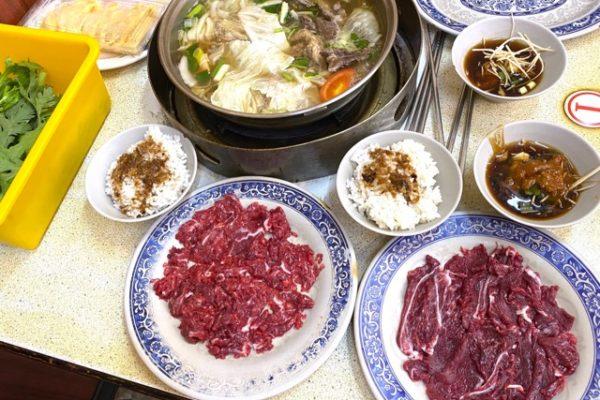 阿裕牛肉涮涮鍋の具材
