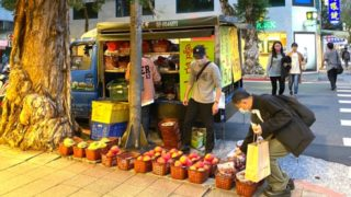 マンゴー移動販売車