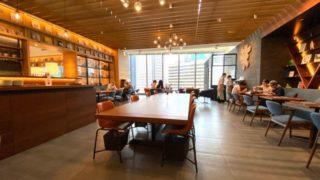 蔦屋/TSUTAYAカフェのテーブル