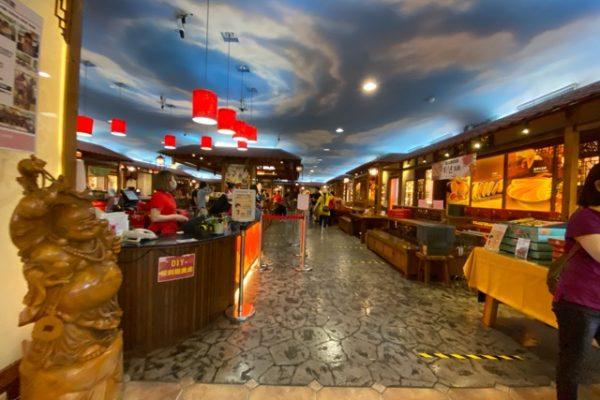 宜蘭餅観光工廠内部