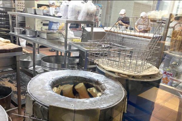 阜杭豆漿の窯