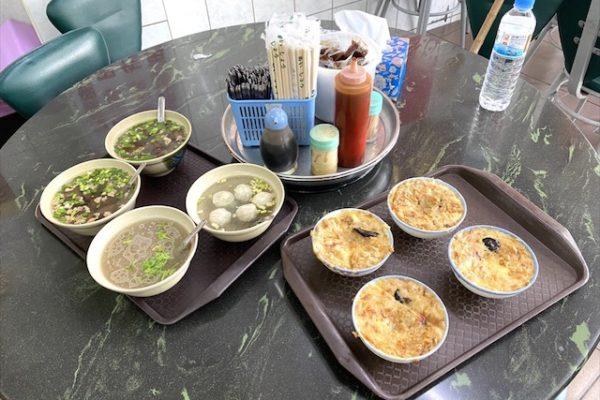 麻豆碗粿蘭のランチ