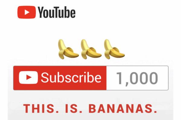 登録者1000人