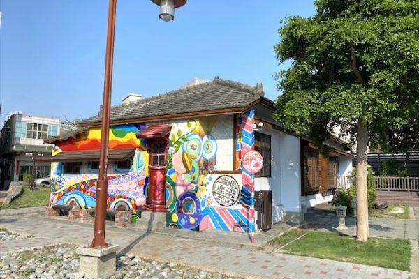鹿港芸術村のカフェ