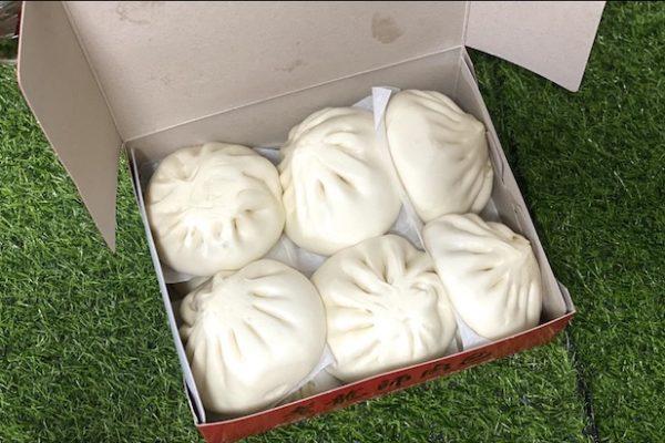 老龍師肉包(三民本店)の饅頭