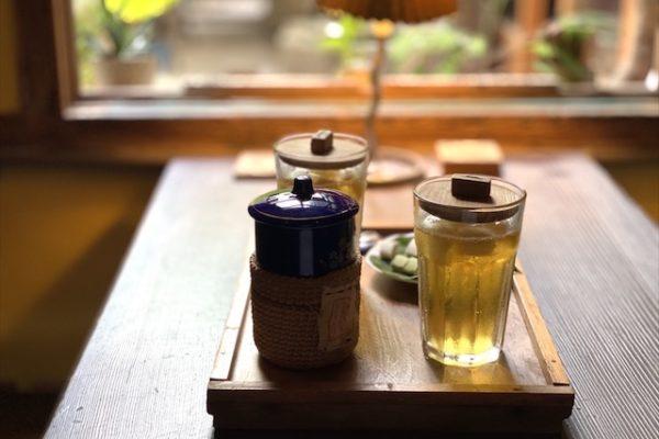 書集喜室のお茶